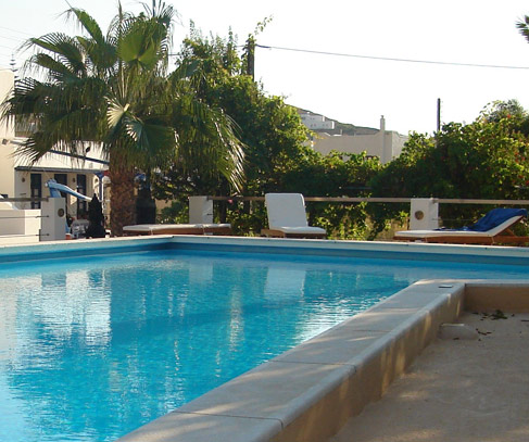 ���� ������ ��� Pension Irene - By the pool